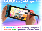 Colors Live is making stylus pens designed for Nintendo Switch