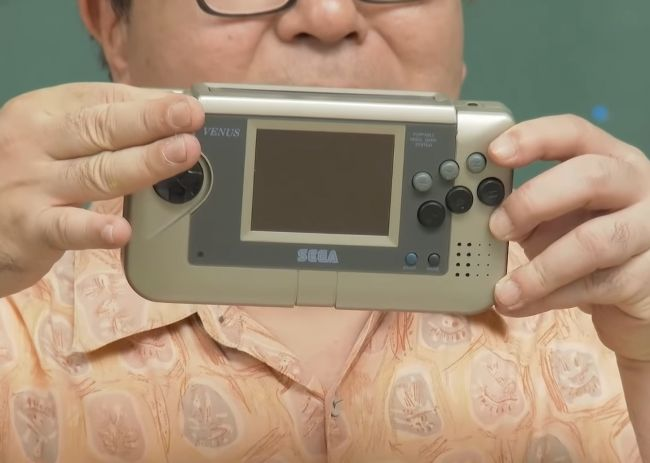 Sega shows prototype of never released handheld console