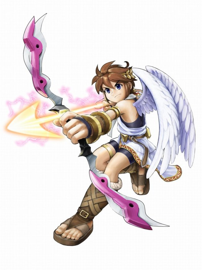 Kid Icarus: Complete Art Gallery