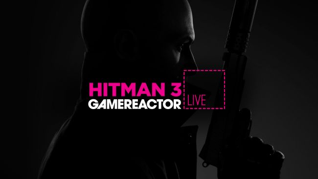 We're playing Hitman 3 on today's GR Live