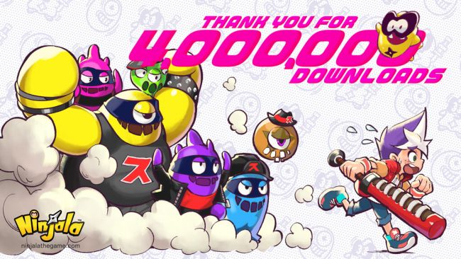 Ninjala has been downloaded more than 4 million times