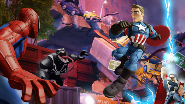 Disney Infinity 3.0: Play Without Limits - Marvel Battlegrounds
