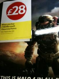 Halo: Reach only £28 at Tesco