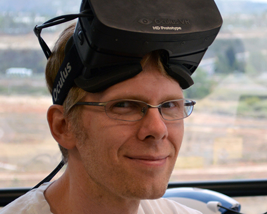 John Carmack is happy that Microsoft bought ZeniMax