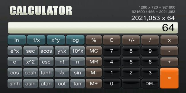 Switch to get an £8 calculator application today