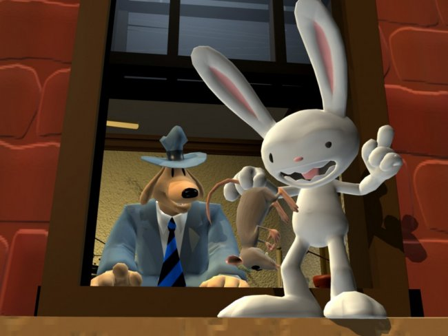 Comparison: Sam & Max Save The World Remastered vs the original