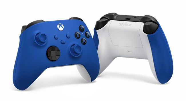 'Shock Blue' controllers announced for Xbox Series S and X