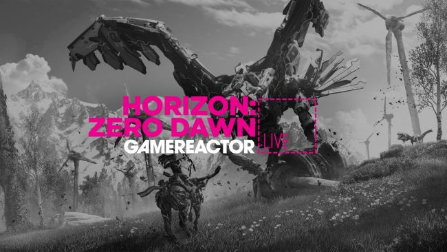 We're playing Horizon: Zero Dawn on PC on today's stream