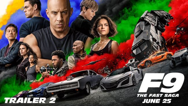 New F9 trailer really is fast and furious