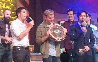 Hoej wins the Hearthstone HTC Spring Championships