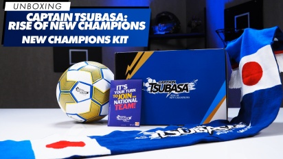 Captain Tsubasa Rise of New Champions - New Champions Kit - Unboxing