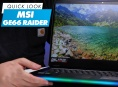 MSI GE66 Raider - Quick Look